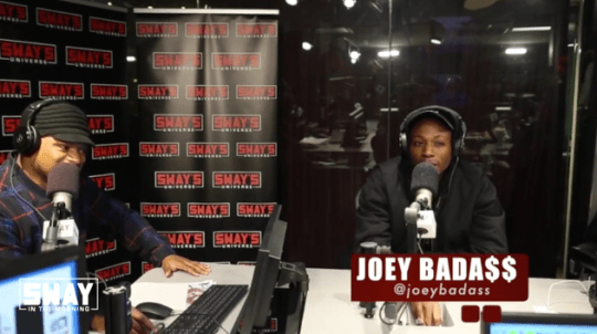 "Check Out Joey Bada$$' ""5 Fingers Of Death"" Freestyle"