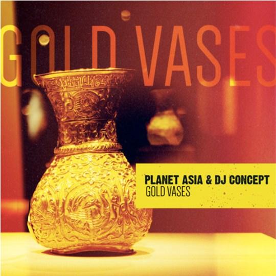 planet-asia-dj-concept-gold-vases