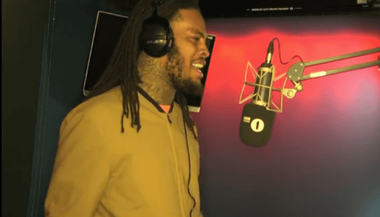 Video: Waka Flocka - Fire in the Booth