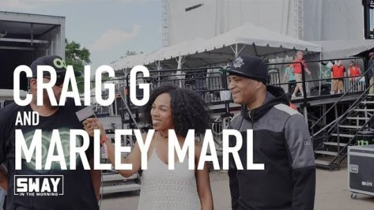Video: Marley Marl & Craig G on Sway in the Morning