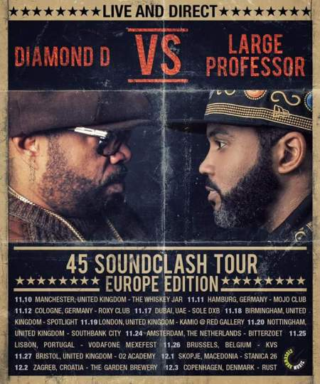 Diamond D vs Large Professor na 23. rođendanu Blackouta!
