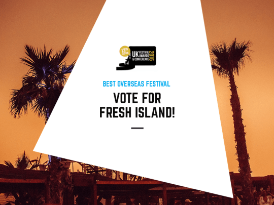 Vote for Fresh Island in the 2016 Festival Awards