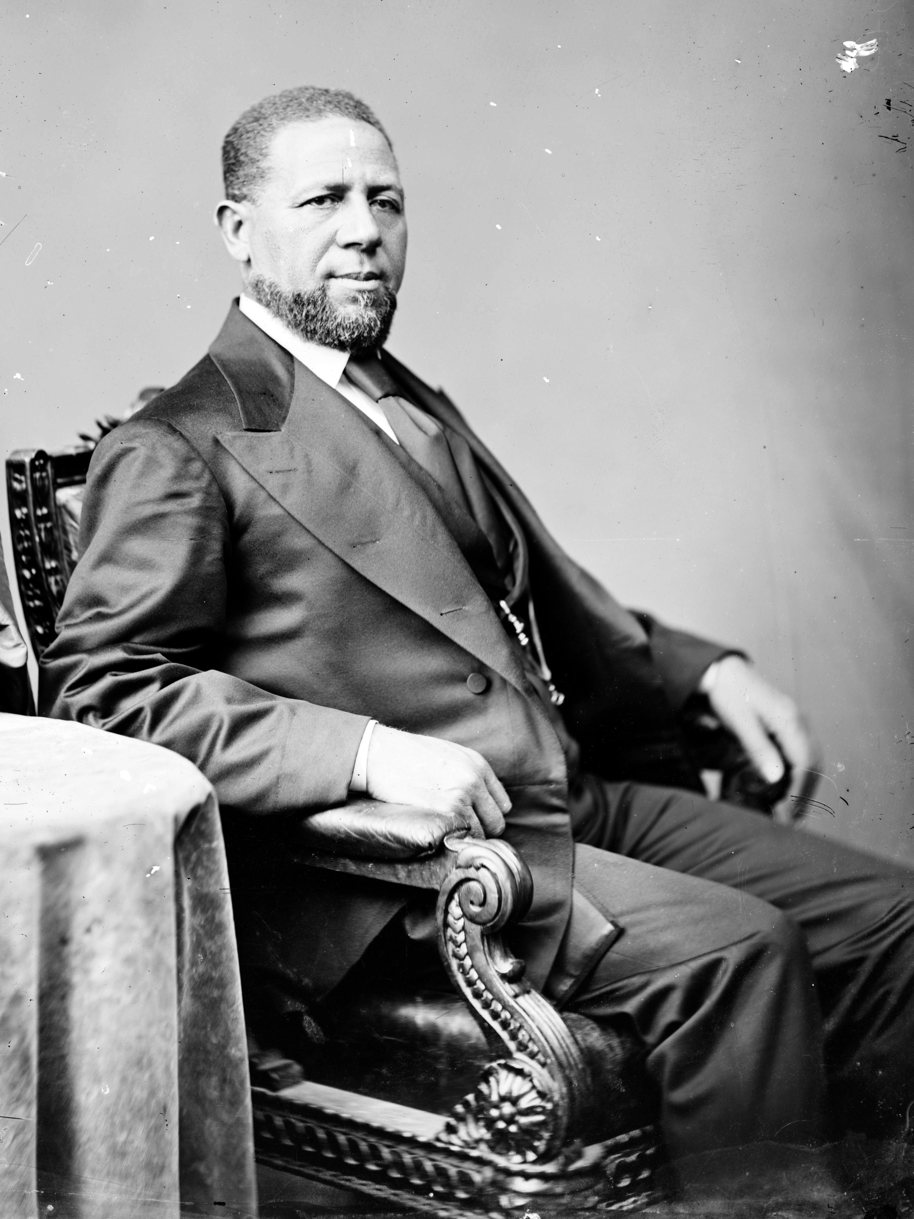 Hiram Rhoades Revels First Black U S Senator