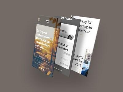 Car dealer template