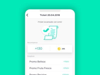 Ticket scan app
