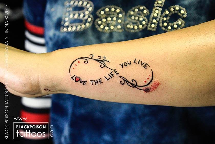 A Infinity Tattoo