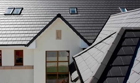 Blackpool Roofing Contractors. A new slate tiled roof installed by Blackpool Industrial Roofing, professional roofing contractors, can greatly enhance the appearence and weatherproofing of your property