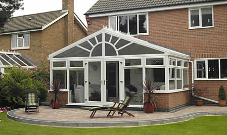 Blackpool Roofing Contractors - upvc consertory, soffits and windows by roofing contractors