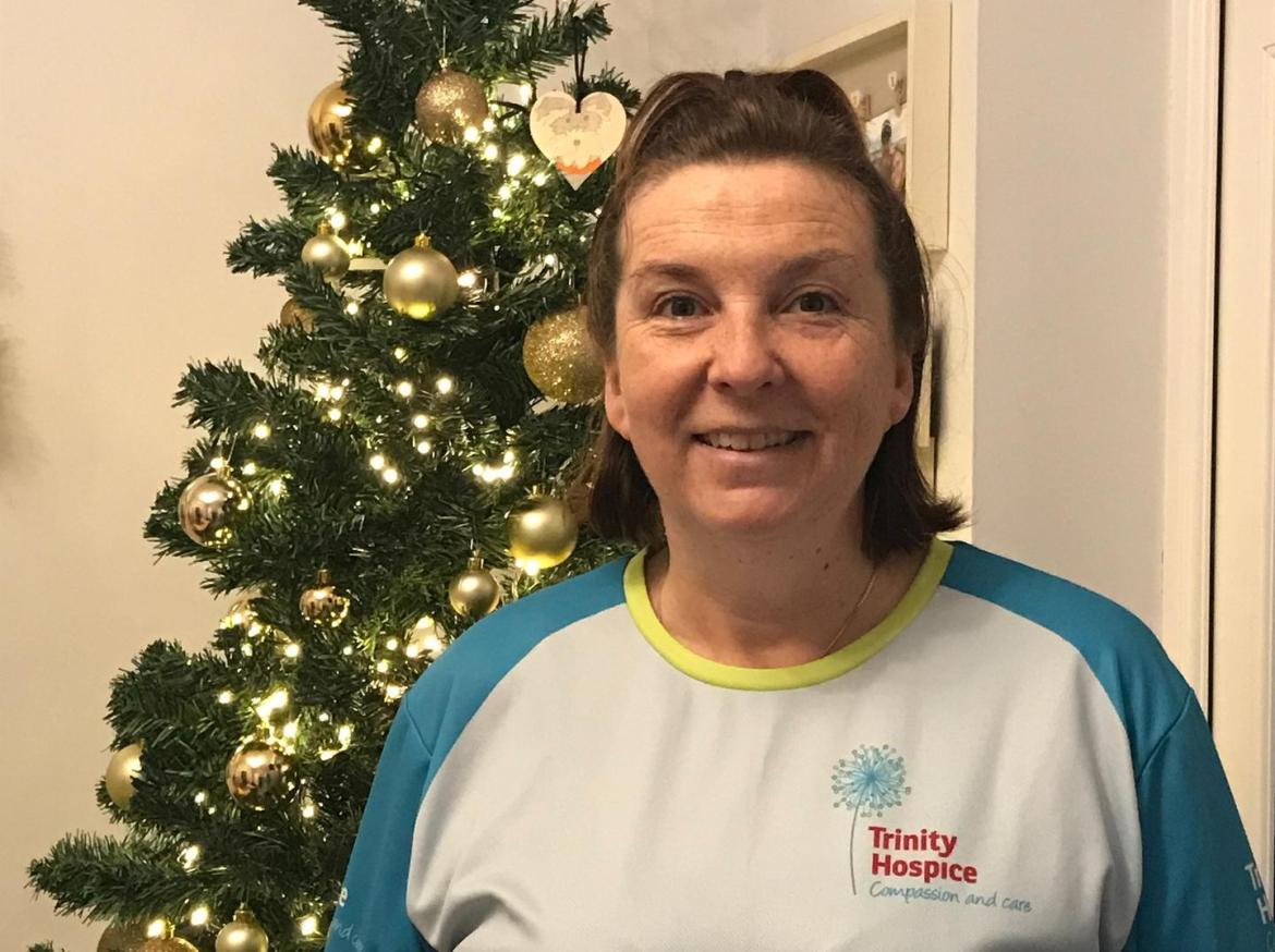Heather Bradley-Tsopanoglou, 49, suffered a heart attack in January