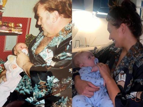 Charlotte Dawson shares touching tribute to her dad image @charlottedawsy Instagram