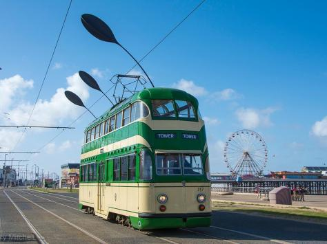 A heritage tram on Blackpool prom. Blackpool Heritage has launched an ambitious fund-raiser seeking £1 million in donations in order to build a new roof and preserve these historic vehicles