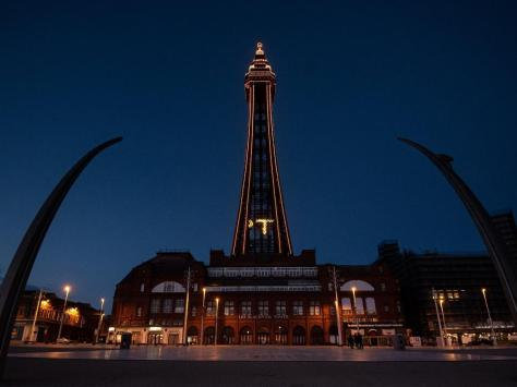 Blackpool Tower will be lit up in tangerine in support of Blackpool FC