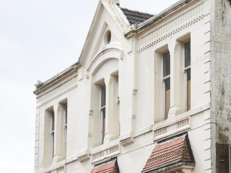 The cinema's distinctive architecture remains