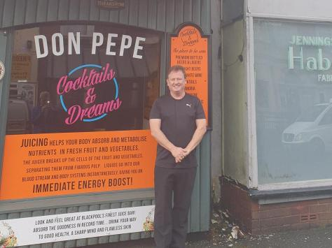 Bill Tankard's Done Pepe bar is set to close in a matter of weeks