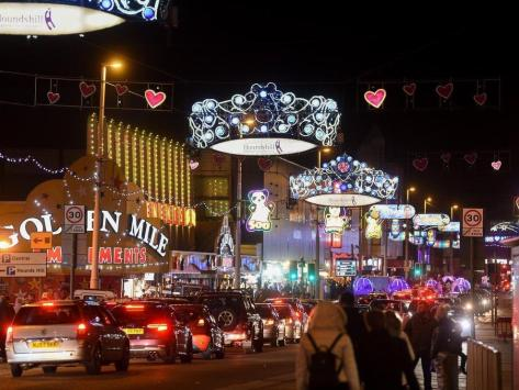 Blackpool Tower's world-famous ballroom will host the Illuminations switch-on concert this year.