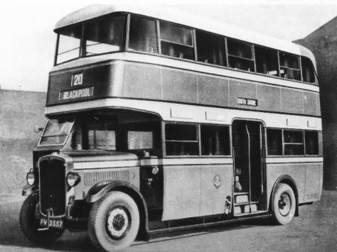 A 1930's bus
