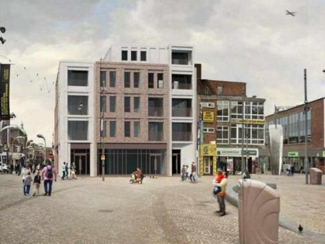 Plans of how the building could look if plans are approved