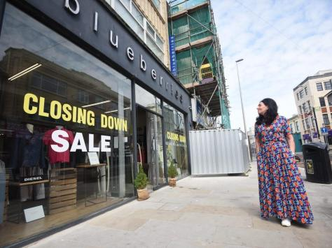 Sarah McConville is set to close the doors on her designer clothes shop Blueberries in topping Street in August