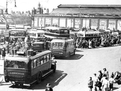 This was Talbot Road bus station in 1932