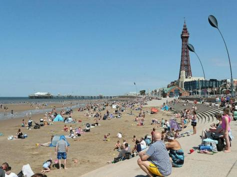 It's going to be a lovely weekend in Blackpool