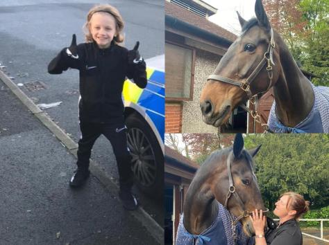 Lancashire Police have named their latest recruit after Jordan Banks who tragically died after being struck by lightning in Blackpool. (Credit: Lancashire Police_