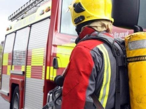 Two fire engines from Blackpool and South Shore attended the scene in Common Edge Road.