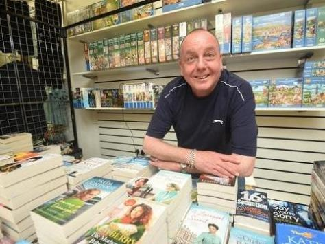 Tony Townsend at The Book Shack