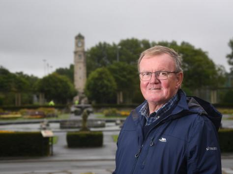 New chairman of the Friends of Stanley Park Nigel Patterson