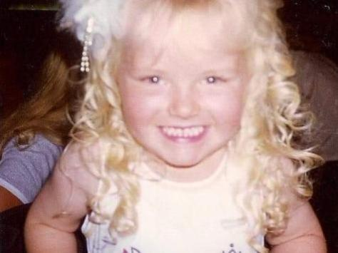 Eden won Mini Miss Wyre in 1997, and has competed in pageants since the age of three. Pic: Eden Kippax