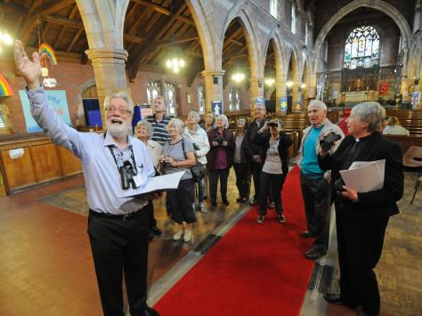 A previous Heritage Open Days event at  St Thomas Church in St Annes