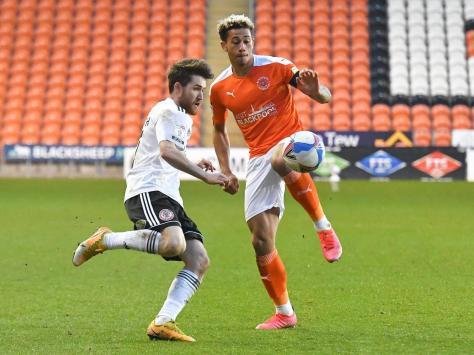 Jordan Gabriel added to Blackpool's ranks earlier this week