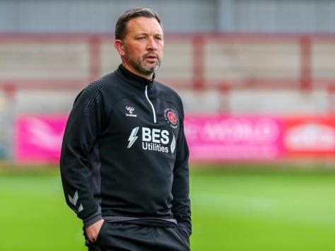 Fleetwood Town coach Barry Nicholson Picture: Sam Fielding/PRiME Media Images Limited