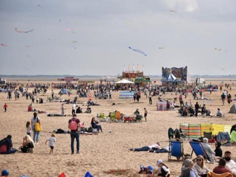 Bags of fun at the St Annes Kite Festival