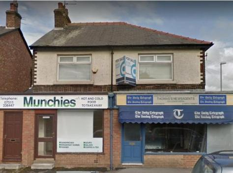 Two former shops in Lower Green, Poulton, will be converted into three flats.