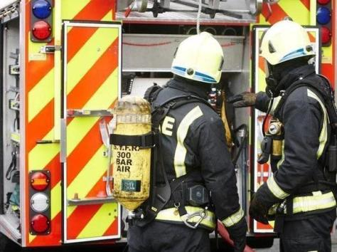 Three fire engines from Bispham and Fleetwood rushed to the incident in Forshaw Close.