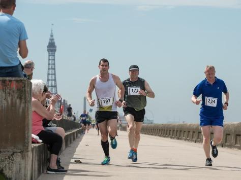 It means the Prom will be closed to both traffic and pedestrians for 6 miles from Little Bispham to Squires Gate on Sunday (September 12). Pic: Fylde Coast Runners