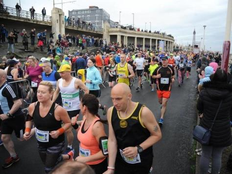 The 26-mile race will take over the entire promenade - both road and pavements - between 8am and 3pm on Sunday (September 12)