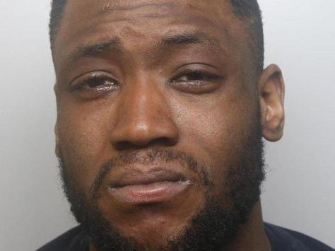 Jonathan Ndombasi was jailed for eight years.