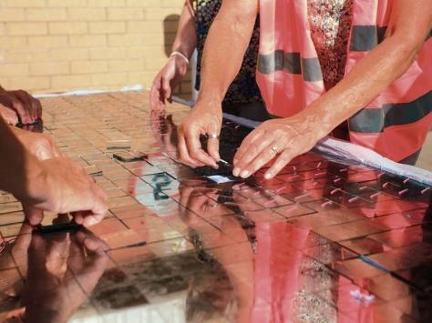 Work to restore Blackpool's Glitter Ball