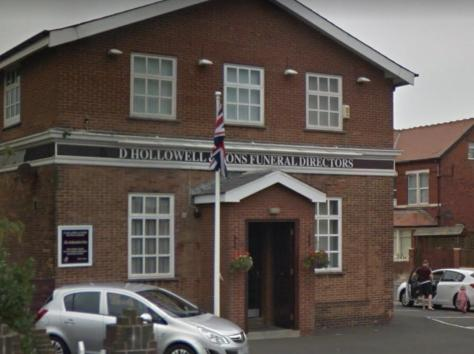 Mike Hartley was employed by Blackpool funeral directors D Hollowell and Sons