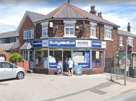 NSS News, Wigan Road (Google)