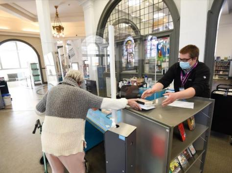 Blackpool Central is among the libraries extending its opening hours