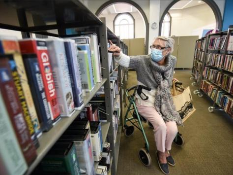 Library services have been up in the air throughout the coronavirus pandemic