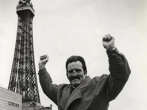 Brian London always promoted Blackpool