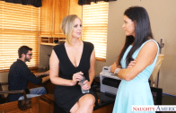 JULIA ANN & INDIA  SEDUCED BY A COUGAR