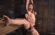 ABELLA DANGER SUBMITS IN HER MOST BRUTAL SHOOT – HOGTIED KINK