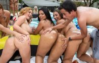 Fuck Team Five – Pool Side Fuck Fest – Krissy Lynn, Rose Monroe, Valentina Jewels & Nickiee