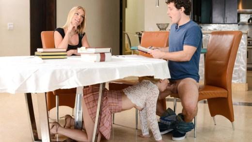 My Stepmom Ruined The Study Session – Abby Adams & Rachael Cavalli