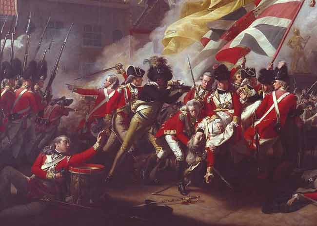 The Death of Major Peirson, 6 January 1781 - John Singleton Copley