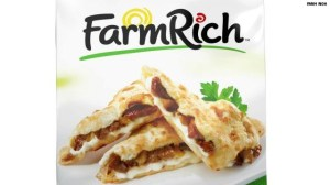 Rich Products Corp. of Buffalo, New York, recalled about 196,222 pounds of its Farm Rich brand frozen chicken quesadillas and several other frozen mini meals and snack items.